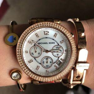 chronograph Parker   Michael kors watch